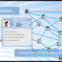 Animated LinkedIn integration sequence - social networking